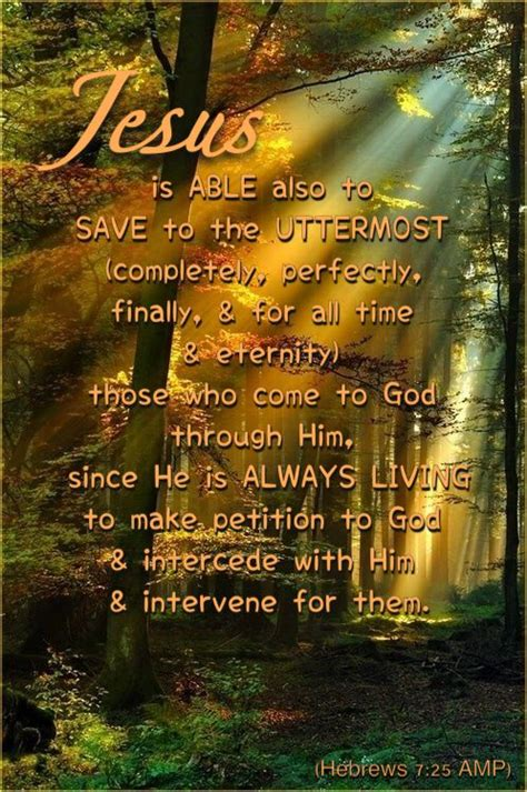 Jesus Saves To The Uttermost by Jesus Is Able Also To Save To The Uttermost Completely