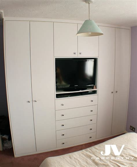 Wardrobes With Tv Space fitted wardrobes jv carpentry