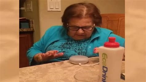 italian grandmother goes viral while trying to talk with her new google home abc13 com