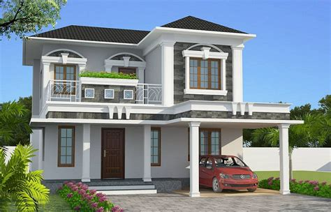 kerala home design 1800 sq ft 1800 sq ft contemporary double floor home design home