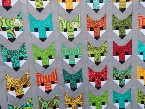 Fox Quilt Pattern by Quilting Cactus Needle Quilts Fabric And More