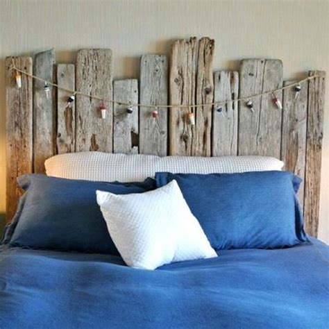 Nautical Bedroom Decor Diy Driftwood Headboard Bedroom Ideas