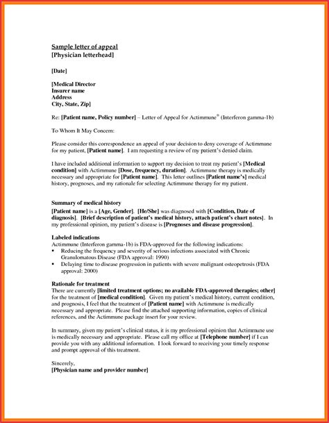 write effective appeal letter write