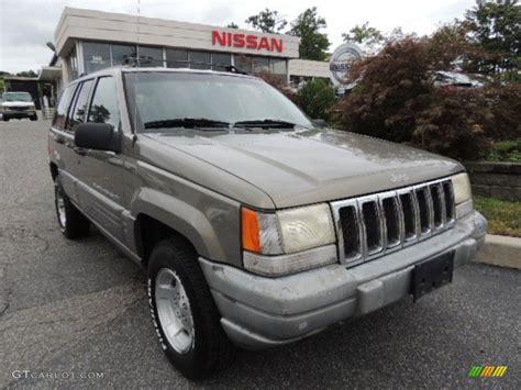 1998 char gold satin glow jeep grand laredo 4x4 70406850 gtcarlot car color