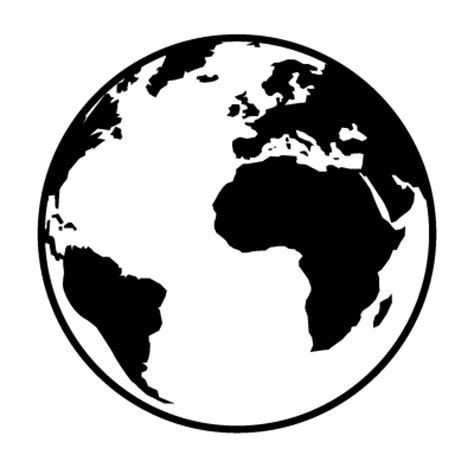 The Globe Outline by Web Mobile Media Workshop Logo Anastasiia Tikhomirova