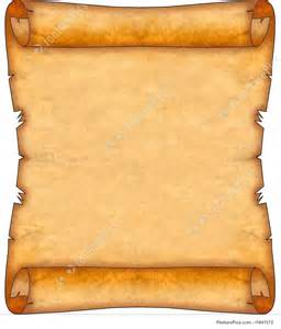 blank ancient scroll picture