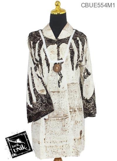Baju Panjang Motif baju batik blus panjang motif semprot jungkat abstrak blus lengan panjang murah batikunik