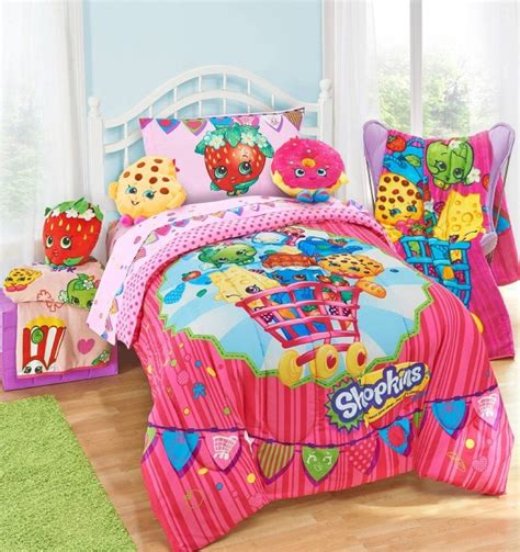 bedroom blankets shopkins twin bedding comforters blankets kids