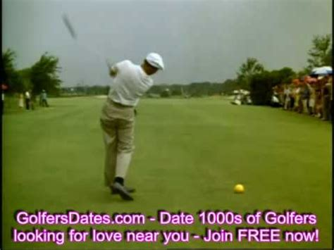 ben hogan slow motion golf swing ben hogan slow motion swing youtube