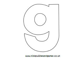 Lowercase G Coloring Page by Alphabet Letters Colouring Sheets Puzzles And