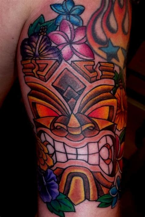 tiki tattoos for men ideas and designs for guys