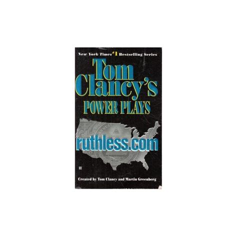 tom clancy power and empire a novel books tom clancy s power plays ruthless