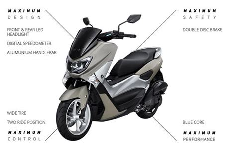 Harga Lu Led Motor Nmax harga dan spesifikasi yamaha nmax abs dan non abs terbaru 2018