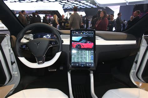 suv tesla inside musk tesla model x due out this summer