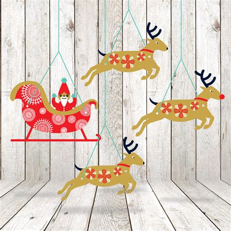 printable paper decorations printable christmas garland diy decorations printable paper