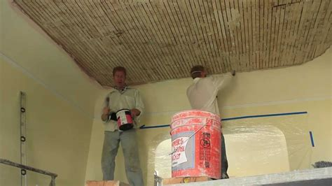 Plaster Ceiling Diy by How To Plaster A Ceiling Interior Plastering Techniques