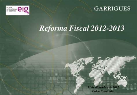 jurisprudencia fiscal diciembre 2013 presentaci 243 n eig ley 7 2012 lucha fraude modificaciones lgt
