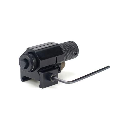 laser diode gun tactical laser beam dot gunsight with pistol picatinny mount high power burning laser