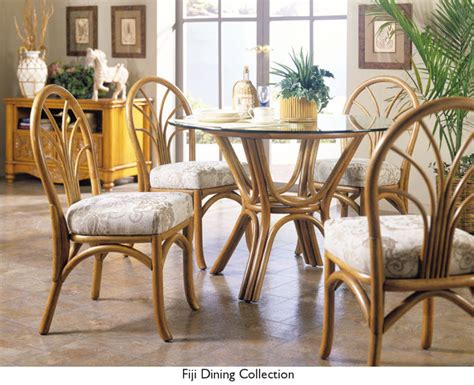 bamboo dining room set rattan dining room set south sea rattan furniture dining