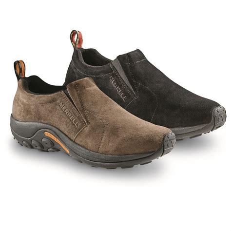 Slipon M Ungu merrell s jungle moc slip on shoes 593904 casual shoes at sportsman s guide