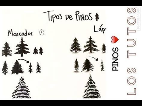 imagenes de tumblr para dibujar faciles como dibujar pinos lapiz vs lapicero youtube