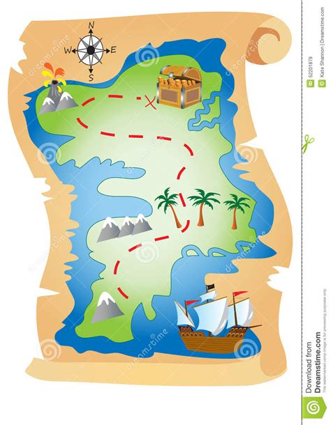 cartoon map to pirate island pictures inspirational pictures