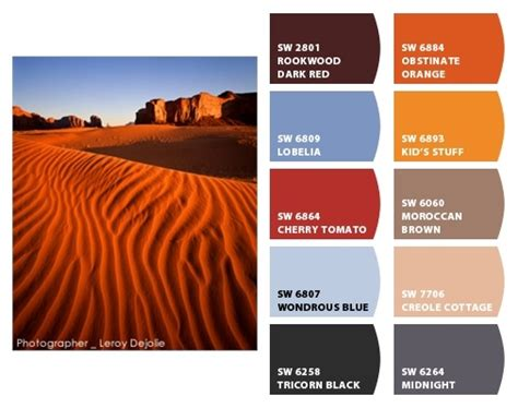 17 best images about inspired color palettes on utah and color inspiration