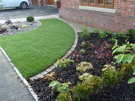 Front Garden Design Ideas Front Garden On A New Build Estate Angie Barker Trading As Garden Design For All Seasons