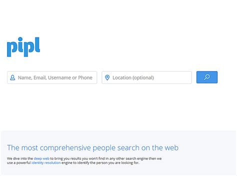 Pipl Search 6 Search Engines You Can Use To Find Anyone