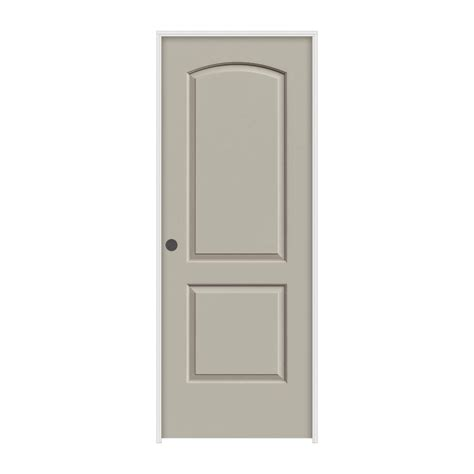 Riverside Interior Door by Masonite 36 In X 80 In Riverside Smooth 5 Panel Equal