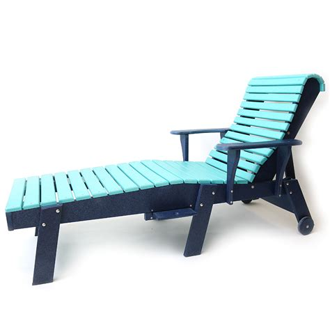 ergonomic chaise lounge beach leisure chairs the amish craftsmen guild ii