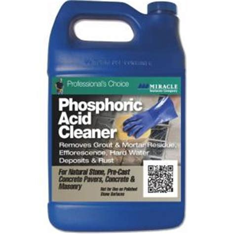 miracle sealants 128 oz fast acting phosphoric acid