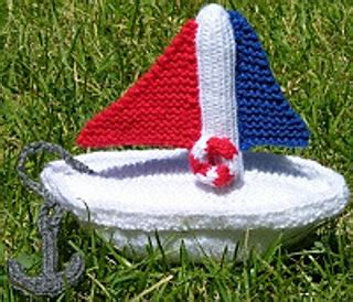 toy boat anchor ravelry toy boat with anchor and lifepreserver pattern by