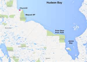 hudson bay canada map breakup date average for w hudson bay is july 1 this