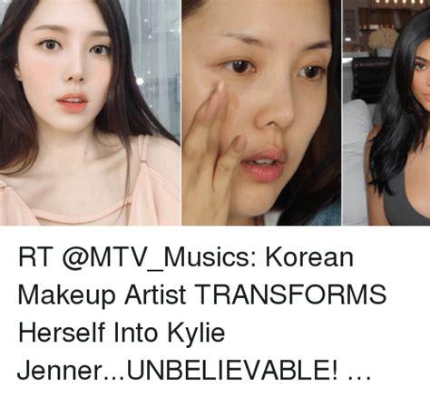 Makeup Artist Memes - rt korean makeup artist transforms herself into kylie
