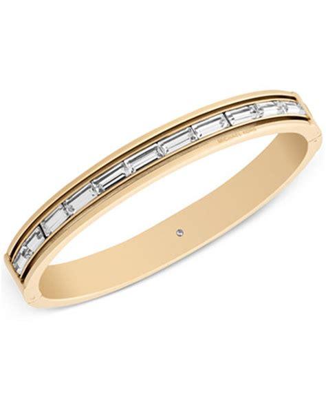 michael kors baguette bangle bracelet only at