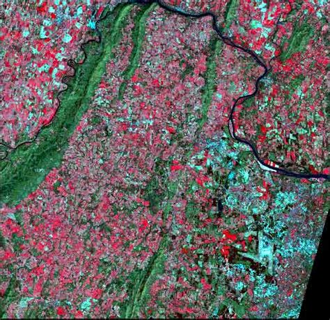 false color image true and false color composite satellite images of loudoun