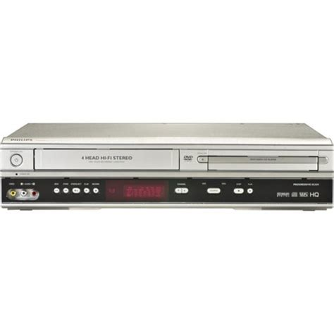 dvd cassette player new philips dvd vcr player dvp3050v direct dubbing