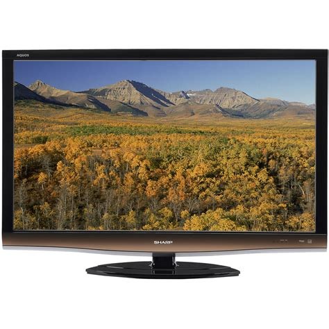 Aquos Tv Lc32le340 sharp lc 46e77un 46 quot aquos lcd tv lc46e77un b h photo