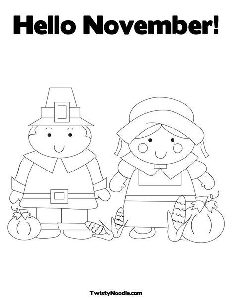 november month coloring page 63 best month 11 november images on pinterest hello