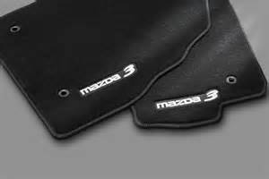 2008 Mazda3 Floor Mats For Sale Genuine 2010 2013 Mazda 3 Floor Mats Charcoal Mazda3 Logo
