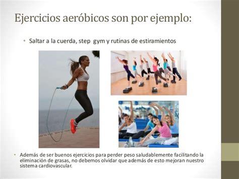 imagenes sensoriales con sus ejemplos ejercicios aerobicos y anaerobicos