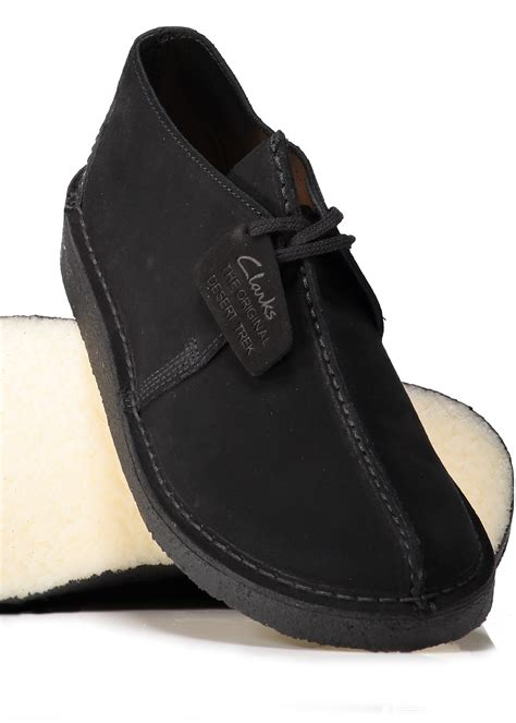 clarks originals black suede desert clarks originals desert trek black suede