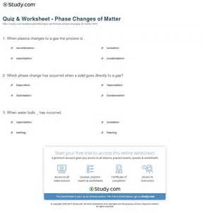 collection of types of matter worksheet bloggakuten
