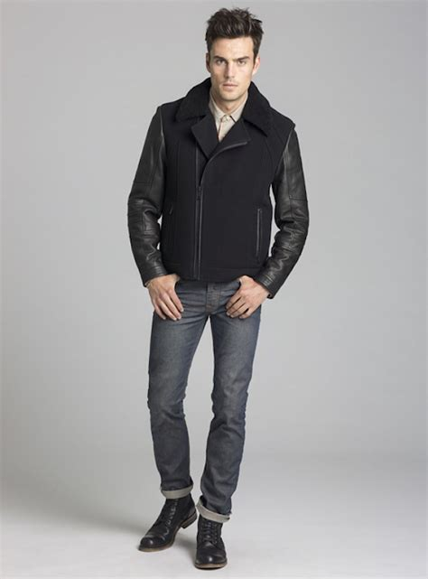 Jaket Gazr andrew marc the rugged and menswear brand