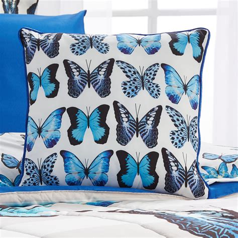Joe Boxer Pillow by Joe Boxer Square Throw Pillow Butterfly Home Bed
