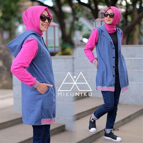 Baju Terbaru Outer By Mikuniku supplier baju muslim terbaru