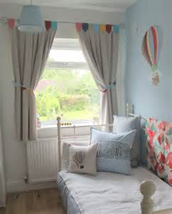 balloon curtains for bedroom day bed with cushions bunting curtains and hot air balloon stickers from belle boo i m