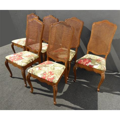 french provincial cane  dining room chairs chairish