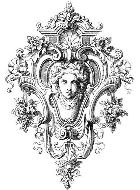 cartouche tattoo designs clipart rennaissance cartouche lrg ornament decoupage